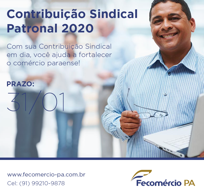 contribuicao sindical 2020